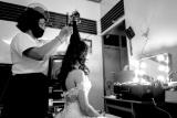 婚禮髮型及化妝